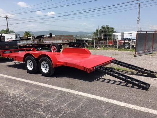 remolque car hauler, transportador, autos y camionetas 3 ton