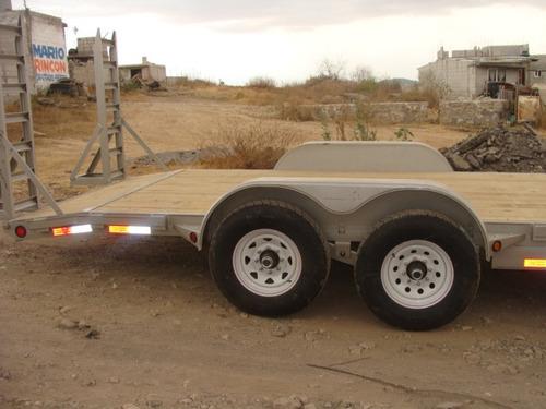remolque carhauler 5.40 largo, 6000 k. nuevo con serie