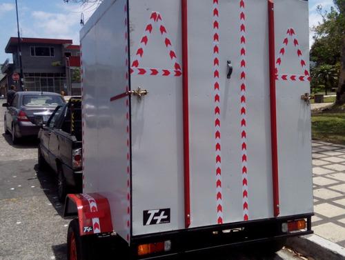 remolque carreta trailer cerrado tipo camper cod t101