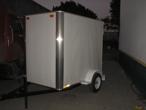remolque cerrado pintro motos camiones camionetas mex