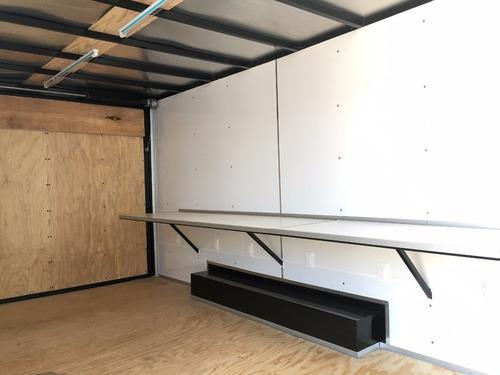remolque cerrado tipo caja oficina movil nuevo 2017
