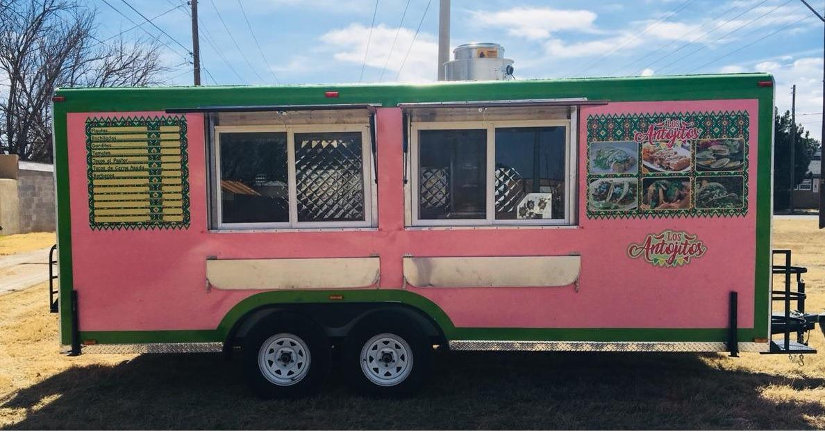 Remolque Comida Tacos Food Truck 20 Ft X 8 Ft Traila Usa