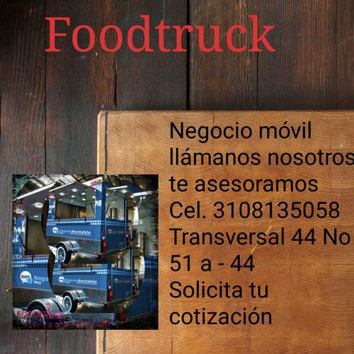 remolque comidas - foodtruck - foodtrailer todo tipo