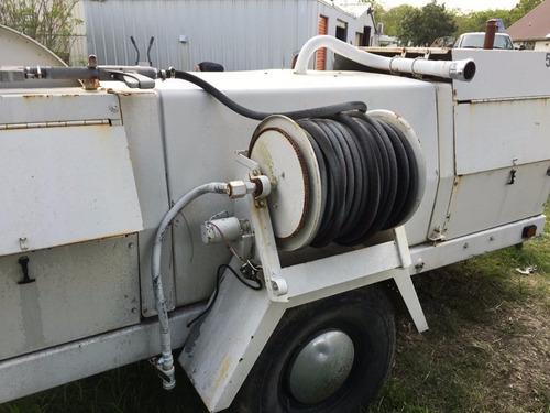 remolque con equipo para limpíar desazolve drenajes