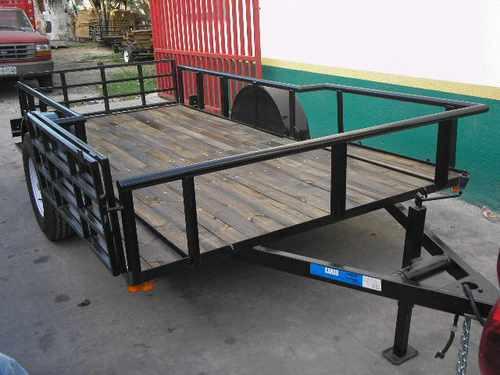 remolque cuatrimotos camionetas camiones plataforma mex 18
