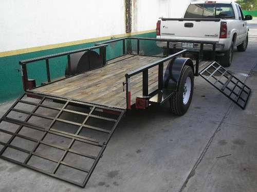 remolque cuatrimotos camionetas camiones plataforma mty 18