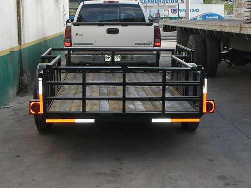 remolque cuatrimotos camionetas camiones plataforma ver