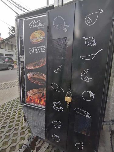remolque de alimentos hamburguesas