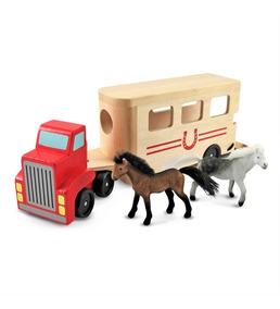 Carrier Remolque De Caballos Madera Horse amp;d M Wooden Vehicle wyvNmn08OP