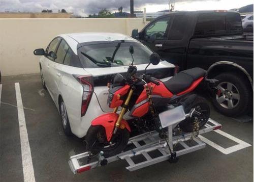 remolque de motos trailer de aluminio motocross scooter