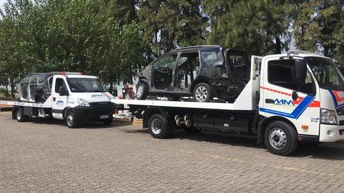 remolque de vehiculo grua traslado de auto auxilio mecanico