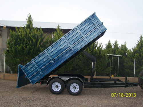 remolque de volteo de 6 toneladas nuevo multiusos