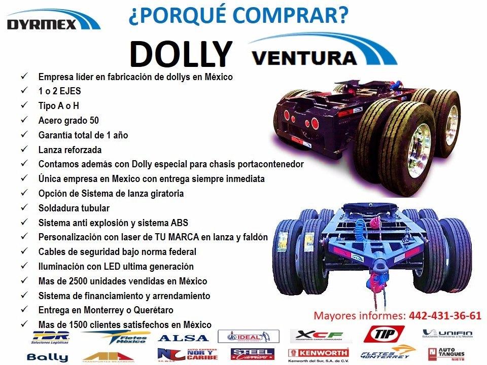 Remolque Dolly Enllantado 2019 - $ 189,000 en Mercado Libre