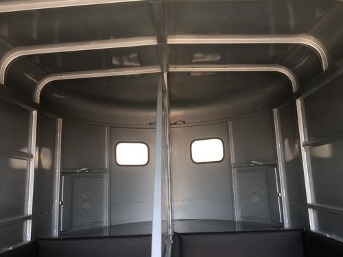 remolque equipado nuevo 2 caballos de salto, percherones,