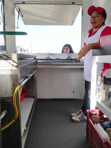 remolque equipado  venta de alimentos