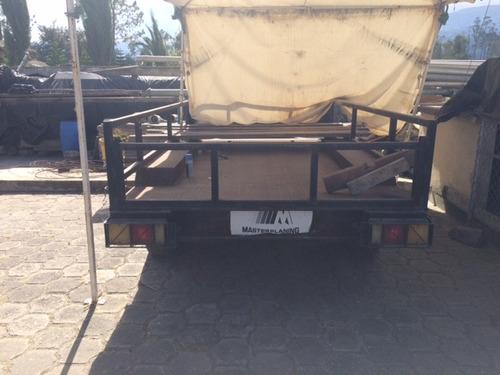 remolque heavy duty carga pesada. regalo d oportunidad vendo