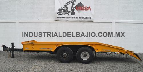remolque jalon dona caltrans trailer case caterpillar