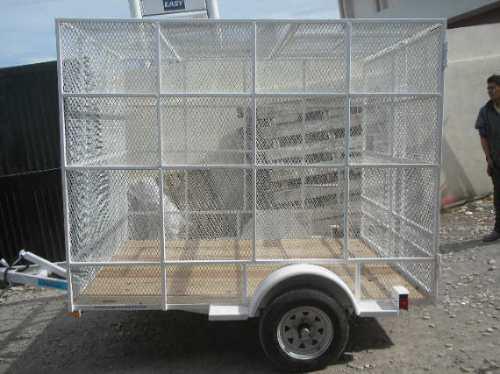 remolque jaula camioneta camion cutrimoto mty