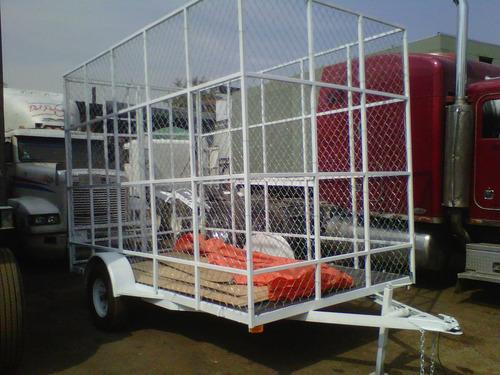 remolque jaula ciclonica contenedor camion camionetasver17.