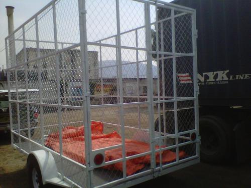 remolque jaula ciclonica pet plastico qro 20