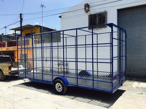 remolque jaula ciclonica reciclaje pet camionetacamionver 17