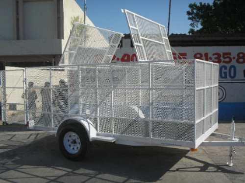 remolque jaula malla camion camioneta caja contenedor mex 17