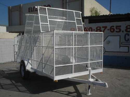 remolque jaula malla camion camioneta caja contenedor ver 18