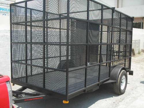 remolque jaula malla camionetas camiones pet ver 18