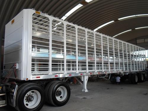 remolque jaula para transporte de cerdos *oferta hot sale*