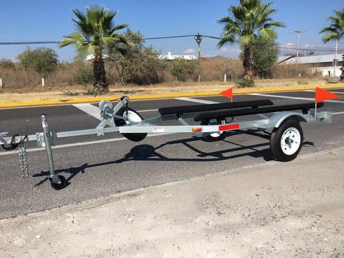 remolque moto acuática, lancha, sea doo, yamaha, kayak, bote