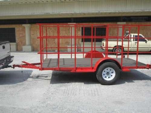 remolque multiusos barandal redila camioneta camiones mty