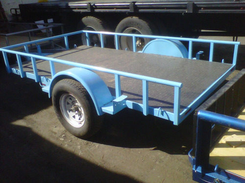 remolque multiusos cama baja camioneta camiones mex