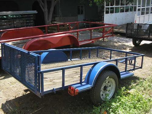 remolque multiusos cama baja cuatrimotos camionetas mty 188