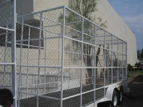remolque multiusos jaula ciclonica pet camionetas mex 17
