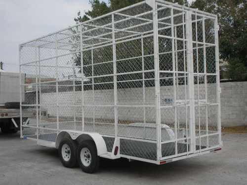 remolque multiusos jaula pet camionetas camion malla mty 188