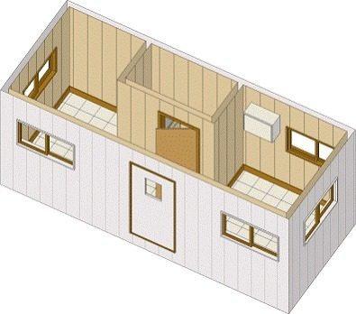 remolque nuevo oficina movil, camper, cabina,6 mts caseta