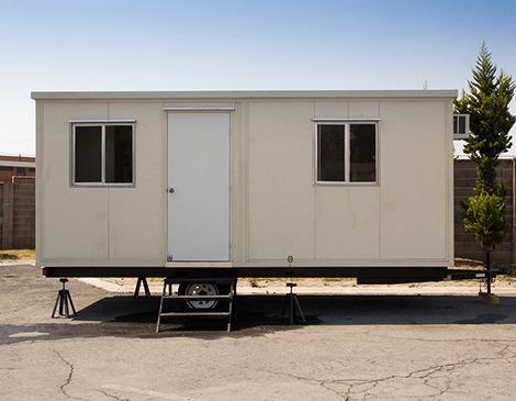 Remolque nuevo oficina movil camper cabina 6 mts caseta - Casetas para oficinas ...