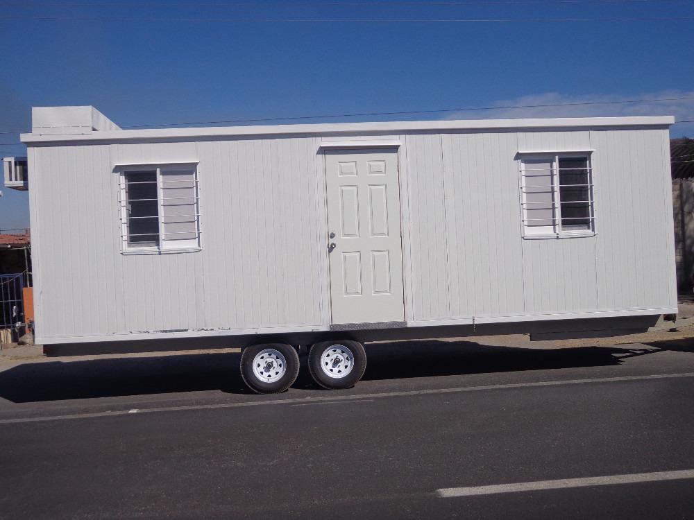 remolque nuevo oficina movil camper cabina 8 mts caseta