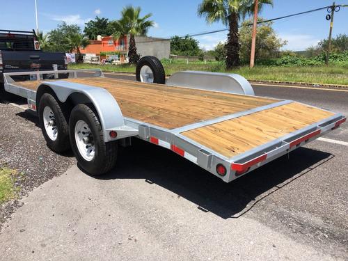 remolque nuevo,car hauler, transportador, autos y camionetas