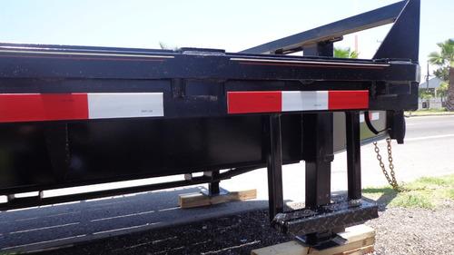 remolque nuevo,plataforma, retroexcavadora,10 toneladas