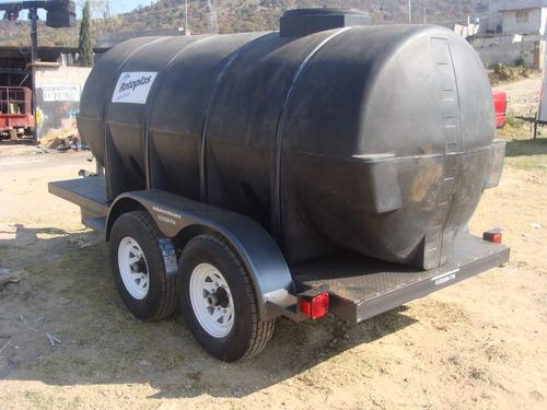 remolque  para agua  5000 lts. nuevos con serie nacionales