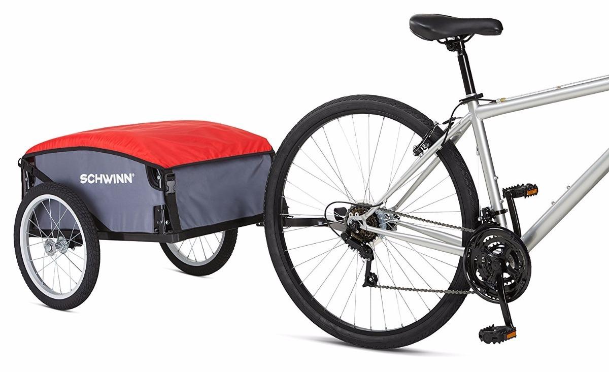 Remolque Para Bicicleta Trailer Para Transportar Cargar Schw ...