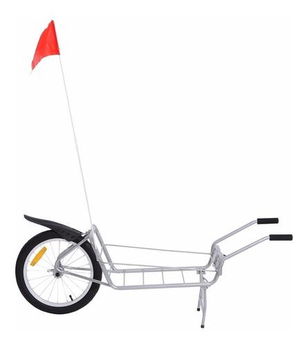 remolque para bicicletas traila jalón cargador carga peso