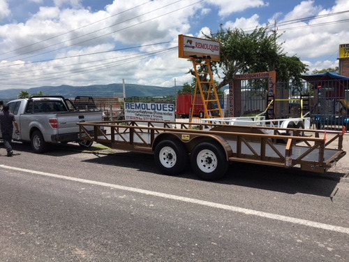 remolque para bob cat, maquinaria, equipo, 6 toneladas
