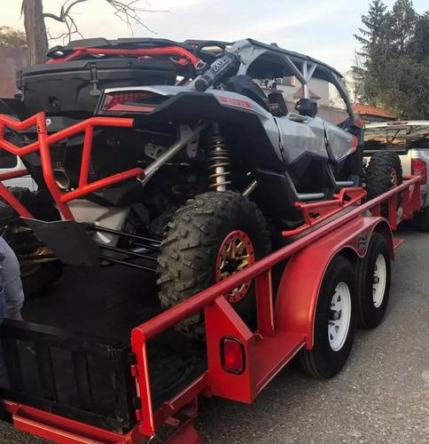 remolque para maquinaria, equipo, motos y cuatrimotos 3 ton.