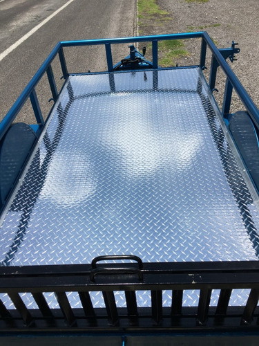 remolque para motos, cuatrimotos, piso de aluminio
