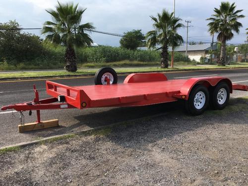 remolque para transportar autos y camionetas, 3 toneladas