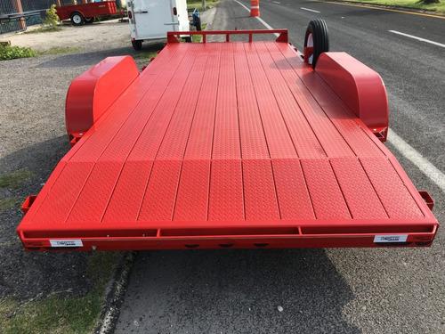 remolque para transportar autos y camionetas, antiderrapante
