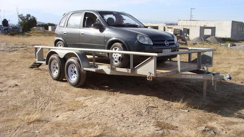 remolque para vehículos 3 toneladas con serie nuevo