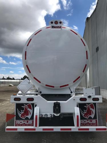 remolque pipa autotanque de 31,000 litros en acero al carbón